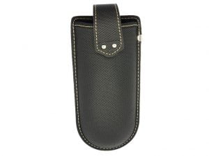 Belt Clip Glasses Case - Black
