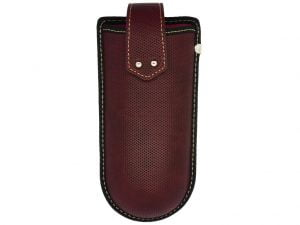 Belt Clip Glasses Case - Red