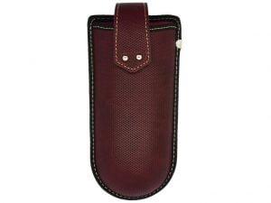 Belt Clip Glasses Case - Red