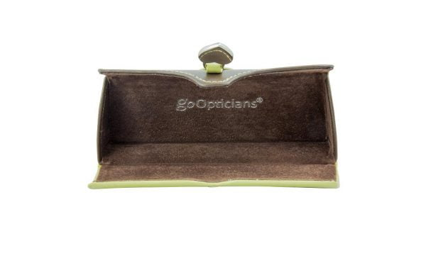 Clutch Glasses Case - Light Green