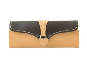 Clutch Glasses Case - Peach