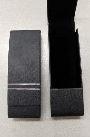 Directors Choice Magnetic Glasses Case - Black