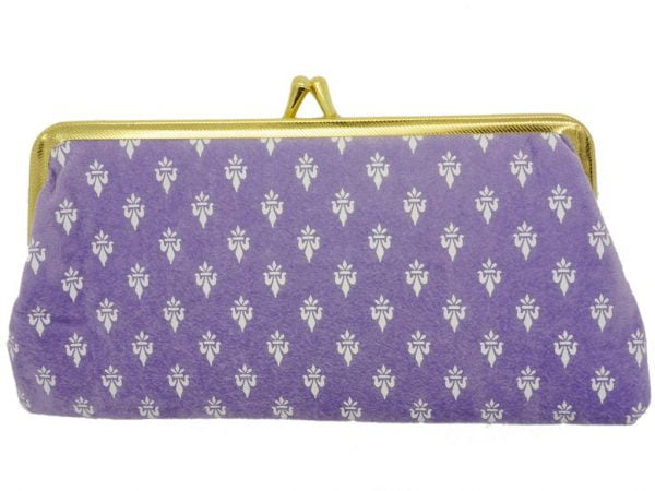 Fleur Purse Style Case - Purple