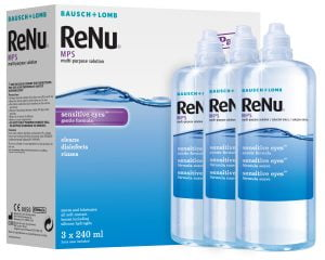 ReNu MPS 3x240ml (3 Months) Contact Lens Solution