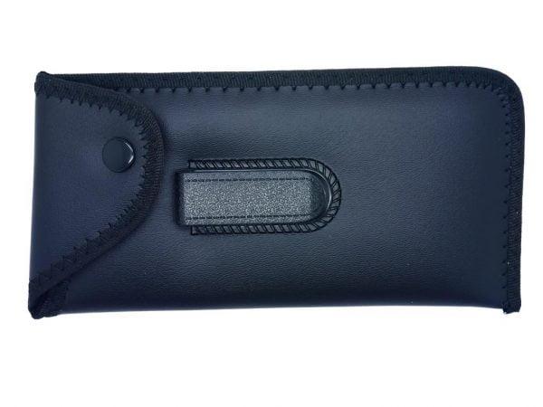 Black Belt Clip Glasses Pouch