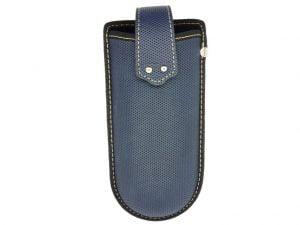 Belt Clip Glasses Case - Blue