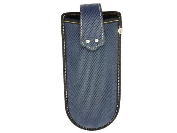 Belt Clip Glasses Case - Blue