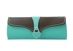 Clutch Glasses Case - Blue