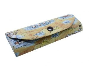 Crazy Animals Glasses Case Pigs