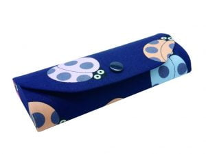 Crazy Animals Glasses Case Ladybird